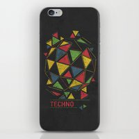 Techno iPhone & iPod Skin