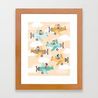 These Birds Want To Fly Framed Art Print