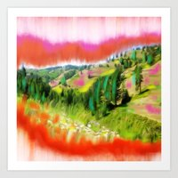 Nez Perce Idaho Art Print
