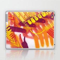 Yellow on Orange Laptop & iPad Skin