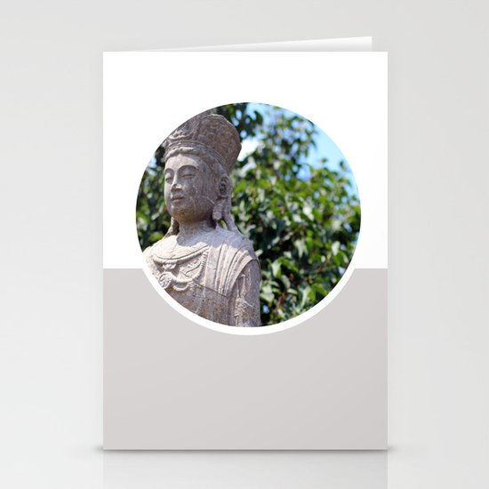 Frank Lloyd Wright's Statue Stationery Card