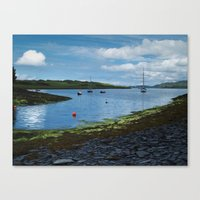 At Toberonochy Canvas Print
