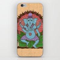 peace ganesh iPhone & iPod Skin