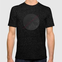 space Mens Fitted Tee Tri-Black SMALL