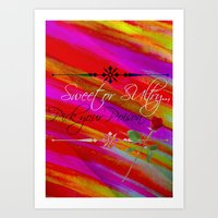 Sweet Or Sultry - Sexy C… Art Print