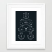 Infinite Expanding Framed Art Print