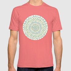 Doily Mens Fitted Tee Pomegranate SMALL