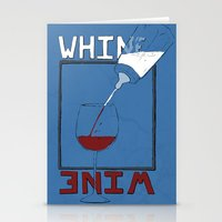 Whine to Wine Stationery Cards