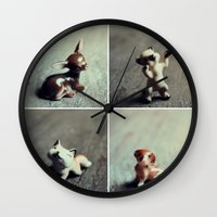 Tiny Menagerie Wall Clock