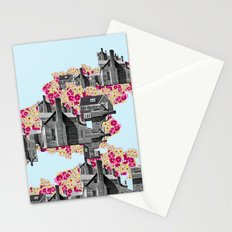 FILLED WITH CITY II Stationery Cards
