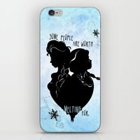 Some People Are Worth Me… iPhone & iPod Skin