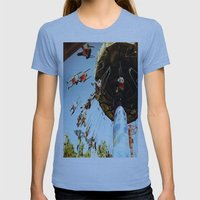 In Motion Womens Fitted Tee Athletic Blue SMALL