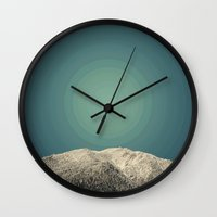 Snow Daze Wall Clock