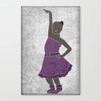 Children Dancing 4 Canvas Print