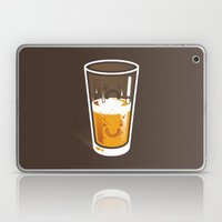 Pessimistic Optimist - alt version Laptop & iPad Skin