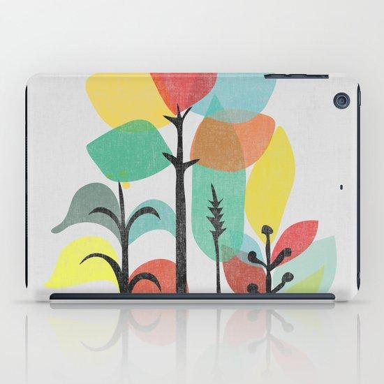 Tropical Groove (gray) iPad Case