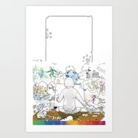 you're COLOR - Page 10 Art Print