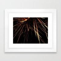 Fireworks6 Framed Art Print