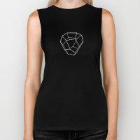 Tetrahedral Pentagonal Dodecahedron Biker Tank