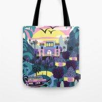 Latin Nature Tote Bag