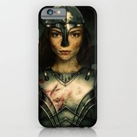 iPhone & iPod Case featuring WARRIOR by Happi Anarky
