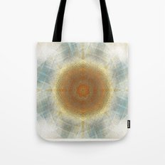 Trendy digital mandala Tote Bag