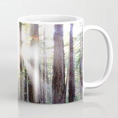 Sunburst Through the Redwoods Mug
