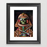 The Pharaoh's Ascension Framed Art Print