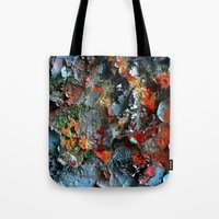 Graffiti Detail Tote Bag
