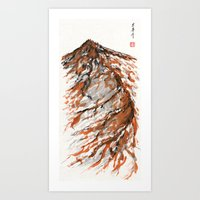 tiger mountain Art Print