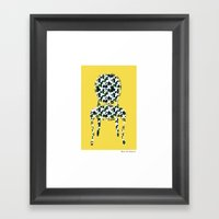 Sit Among The Daisies  Framed Art Print
