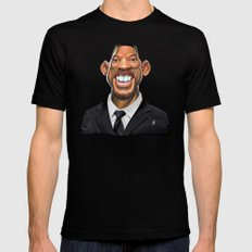 Celebrity Sunday ~ Will Smith Mens Fitted Tee Black SMALL