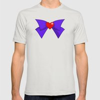 Super Sailor Mars Mens Fitted Tee Silver SMALL