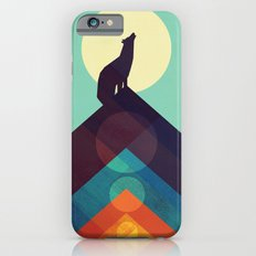 Howling Wild Wolf iPhone 6 Slim Case