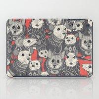 sweater mice coral iPad Case