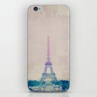 I Love Paris iPhone & iPod Skin