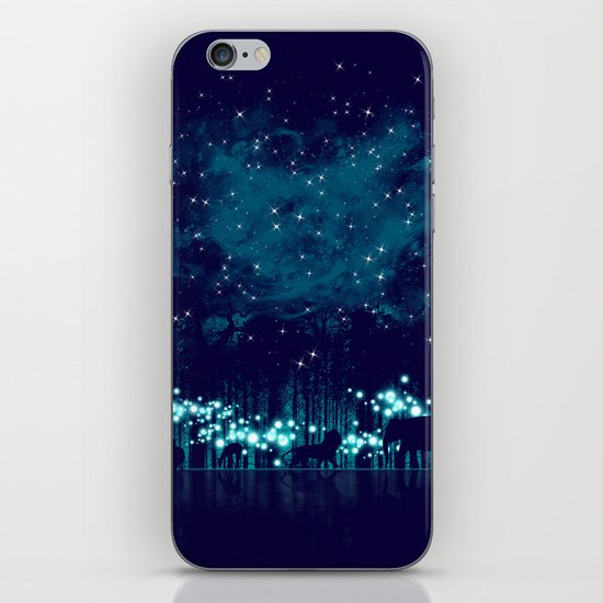 Cosmic Safari iPhone & iPod Skin