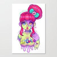 Z-Cutie Canvas Print