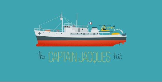 Captain Jacques' Boat Art Print