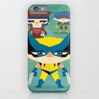 iPhone & iPod Case featuring X Men fan art by danvinci