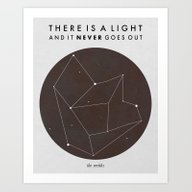 Art Print featuring There Is A Light by Nan Lawson