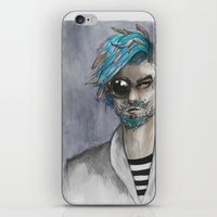 Bearded iPhone & iPod Skin