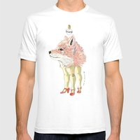 Foxy Mens Fitted Tee White SMALL