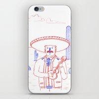 Mariachi in the Desert iPhone & iPod Skin