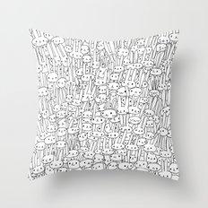 Buns Buns Buns Throw Pillow