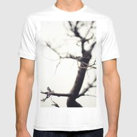 Small Tree Mens Fitted Tee White SMALL