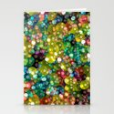 Sparkling Rainbow Bubbles Stationery Cards