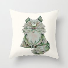 brume color Throw Pillow