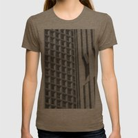Concrete Jungle Womens Fitted Tee Tri-Coffee SMALL