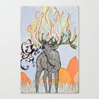 How Glorious Is His Tong… Canvas Print